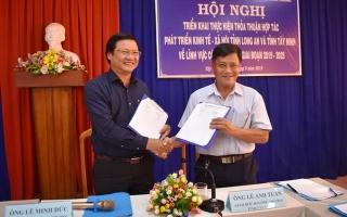 Tây Ninh- Long An: Ký kết chương trình hợp tác về phát triển lĩnh vực công thương