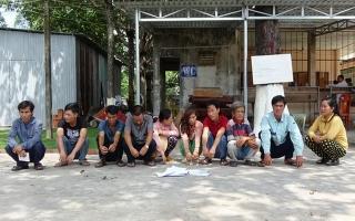 CA Tân Biên bắt tụ điểm lắc tài xỉu