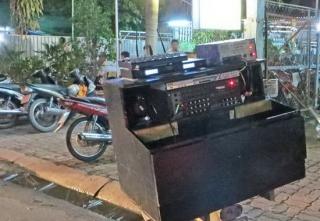 Tân Biên: Chấn chỉnh hoạt động các dàn karaoke lưu động