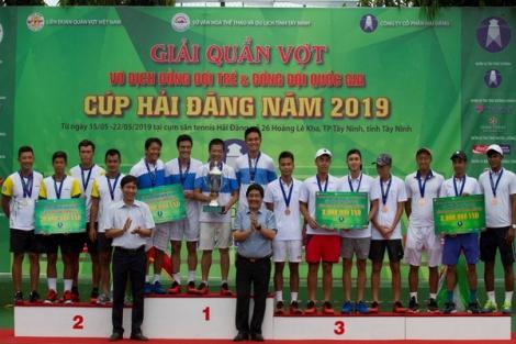 Hải Đăng và Hưng Thịnh vô địch nội dung đồng đội quốc gia- Cúp Hải Đăng 2019