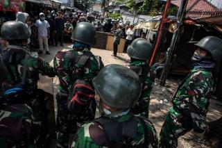 Bạo động sau bầu cử Indonesia, 6 người chết, hơn 200 người bị thương