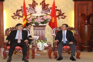 Tổng lãnh sự Hàn Quốc tại TP.Hồ Chí Minh chào xã giao lãnh đạo tỉnh Tây Ninh