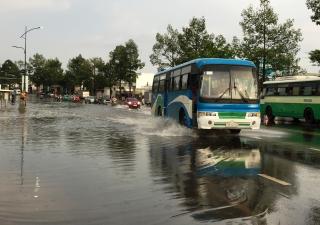Nhiều tuyến đường ở TP.Tây Ninh ngập sau mưa