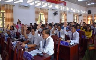 Ông Phạm Văn Tín được bầu làm Phó Chủ tịch UBND huyện Dương Minh Châu