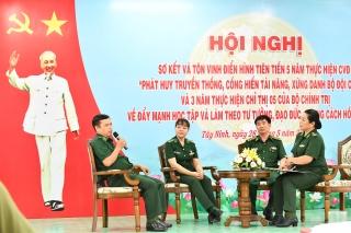 Biên phòng Tây Ninh: Biểu dương các tập thể, cá nhân theo gương Bác