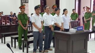 Toà tuyên các bị cáo phạm tội và ra quyết định bắt tạm giam