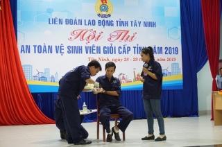 Gò Dầu đạt giải nhất hội thi An toàn vệ sinh viên giỏi năm 2019