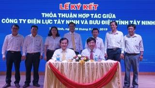 Công ty Điện lực và Bưu điện Tây Ninh ký kết chương trình hợp tác
