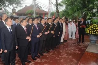 Kỷ niệm trọng thể 115 năm Ngày sinh đồng chí Hoàng Đình Giong