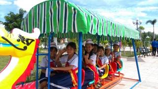 Thêm khu vui chơi miễn phí cho trẻ em Dương Minh Châu