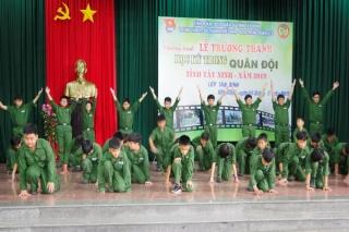Bế giảng lớp Học kỳ quân đội năm 2019
