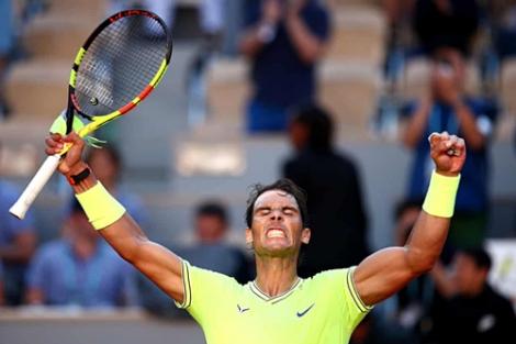 Nadal vào vòng bốn Roland Garros 2019