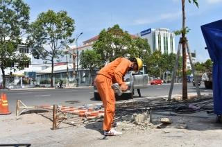 Bảo đảm an toàn lưới điện trong mùa mưa