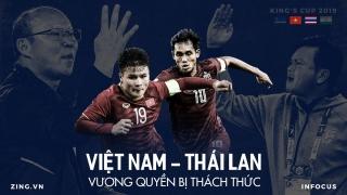 Việt Nam và Thái Lan ở King's Cup: Vương quyền bị thách thức