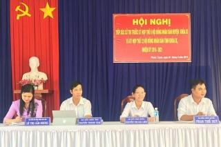 Đại biểu HĐND hai cấp tiếp xúc cử tri trước kỳ họp HĐND giữa năm 2019