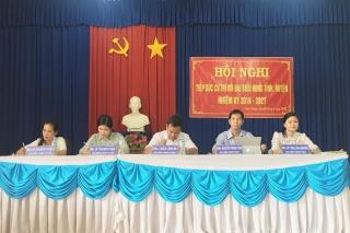 Chủ tịch HĐND tỉnh Nguyễn Thành Tâm tiếp xúc cử tri trước kỳ họp 12