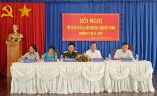 Chủ tịch UBND tỉnh tiếp xúc cử tri phường 1, TP.Tây Ninh