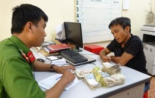 CA Gò Dầu: Bắt đối tượng trộm thùng tiền từ thiện