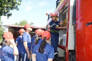 Một ngày làm chiến sĩ cứu hỏa