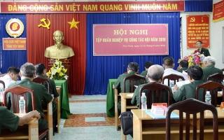 Hội CCB Tây Ninh: Tập huấn nghiệp vụ công tác Hội năm 2019