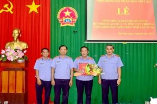 Bổ nhiệm lại Phó Viện trưởng Viện KSND Tây Ninh