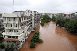 Trung Quốc: 1,4 triệu người bị ảnh hưởng do mưa lũ