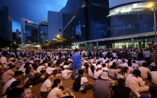Hong Kong: 5.000 cảnh sát đối phó đợt biểu tình thứ hai