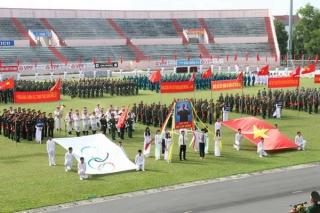 Khai mạc Hội thao quốc phòng LLVT Tây Ninh