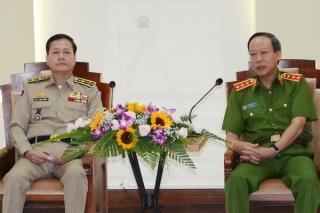 Mở đợt cao điểm tấn công tội phạm ma túy tuyến biên giới Việt Nam - Campuchia