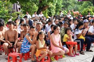 Huyện Dương Minh Châu: Phát động người dân tập luyện môn bơi, phòng chống đuối nước