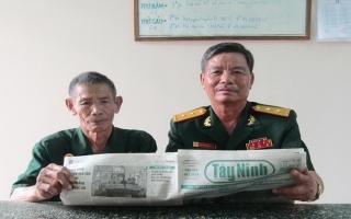 Tấm lòng nhân ái của hai cựu chiến binh