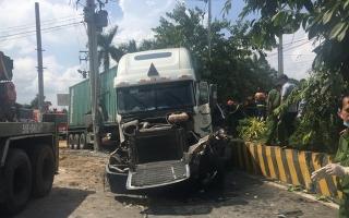 Khởi tố vụ án, tạm giam tài xế container tông chết 5 người