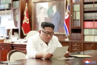 Ông Kim Jong Un nhận lá thư 'tuyệt vời' từ Tổng thống Trump