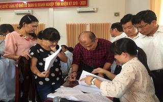 Tập huấn nghiệp vụ kiểm tra, giám sát và kỷ luật của Đảng