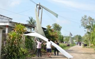 Tân Châu: Lốc xoáy gây thiệt hại hơn 10 tỷ đồng