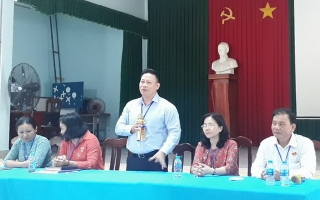 Lãnh đạo tỉnh thăm các điểm thi THPT quốc gia