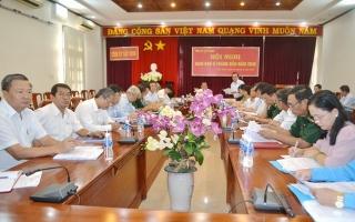 Tỉnh uỷ Tây Ninh: Giao ban công tác 6 tháng đầu năm 2019