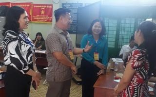 Phó Chủ tịch UBND tỉnh thăm các điểm thi THPT quốc gia