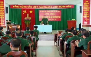 Biên phòng Tây Ninh: Đóng góp ý kiến dự thảo Luật Biên phòng Việt Nam