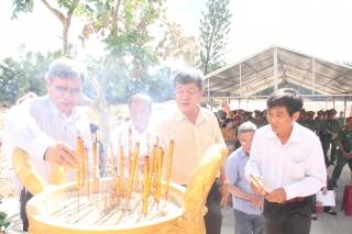 CATN: Dâng hương tưởng niệm anh hùng, liệt sĩ Ban An ninh tỉnh Tây Ninh