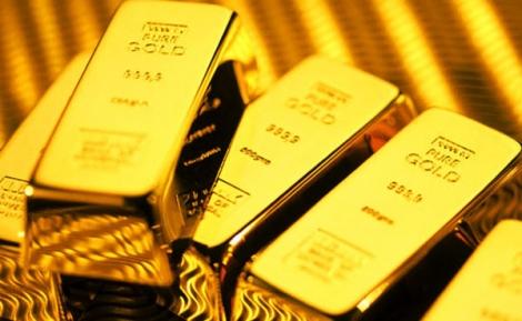 Giá vàng 'rơi' thẳng đứng