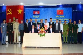 Sơ kết thỏa thuận hợp tác giữa Tây Ninh và Svay Rieng (Campuchia)