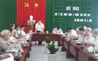 Gò Dầu: Hội nghị góp ý xây dựng Đảng