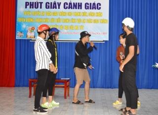 Huyện đoàn Dương Minh Châu: Tuyên truyền về ATGT và tác hại của ma túy