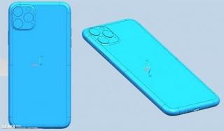 Bản vẽ thiết kế ba mẫu iPhone 2019 xuất hiện