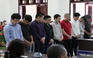 Tuyên án đối với 10 thanh niên rượt đuổi gây chết người