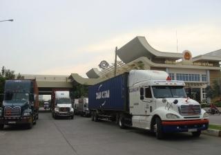 Cửa khẩu quốc tế Mộc Bài thu phí phương tiện ra vào gần 137 tỷ đồng