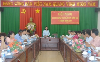 6 tháng đầu năm: Hoà Thành có 4 đảng viên bị kỷ luật