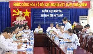 Thường trực HĐND tỉnh họp định kỳ tháng 7.2019