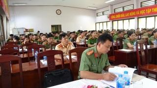 Đảng ủy Công an tỉnh: Tập huấn công tác Đảng cho cấp ủy viên cơ sở
